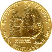 1000 Schilling (Heidentor Carnuntum) -  reverse