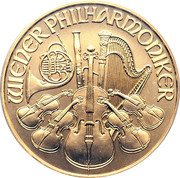 2000 Schilling (Vienna Philharmonic; Gold Bullion Coinage) -  obverse