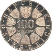 100 Schilling (Innsbruck) – reverse