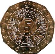 5 Euro (Bundesheer) -  reverse