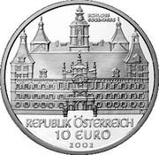 10 Euro (Eggenberg Castle) -  reverse