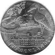10 Euro (Burgenland) -  reverse