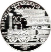 20 Euro (Emperor Ferdinand Northern Railway) – obverse
