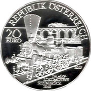 20 Euro (South Railways Vienna-Triest) -  obverse