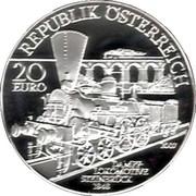 20 Euro (South Railways Vienna-Triest) – obverse