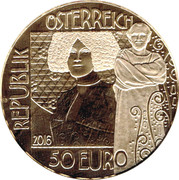 50 Euro (The Kiss) -  obverse
