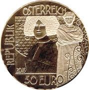 50 Euro (The Kiss) -  reverse
