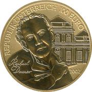 100 Euro (Die Bildhauerei) – reverse