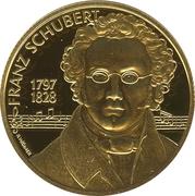 500 Schilling (Franz Schubert) -  reverse