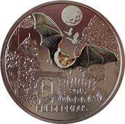 3 Euro (The Bat) -  reverse