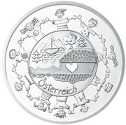 10 Euro (Österreich; silver) -  reverse