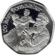 5 Euro (150 years danube waltz) -  obverse