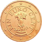 1 Euro Cent -  obverse