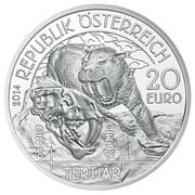 20 Euro (Tertiary) – obverse