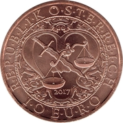 10 Euro (Heavenly Messengers: Michael - The Protecting Angel) -  obverse