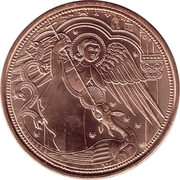 10 Euro (Heavenly Messengers: Michael - The Protecting Angel) -  reverse
