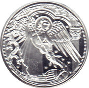 10 Euro (Heavenly Messengers: Michael - The Protecting Angel; Colored) -  reverse
