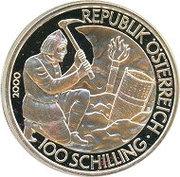 100 Schilling (History: Celtic period) -  obverse
