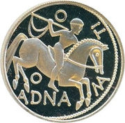 100 Schilling (History: Celtic period) -  reverse