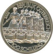 100 Schilling (History: Roman Marcus Aurelius) -  obverse