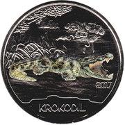 3 Euro (The Crocodile) -  reverse