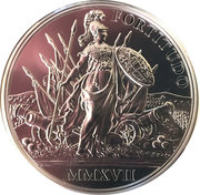 20 Euro (the Birth of Empress Maria Theresa - Courage and Determination) -  reverse