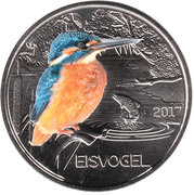 3 Euro (The Kingfisher) – obverse