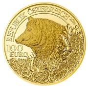 100 Euro (Wild Boar) – obverse