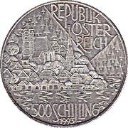 500 Schilling (Hallstatt and Lakes region) -  obverse