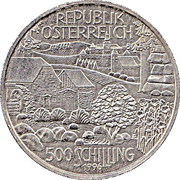 500 Schilling (The Mill Region) -  obverse