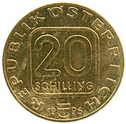 20 Schilling (Anton Bruckner) -  obverse