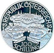 100 Schilling (Leopold I) -  reverse