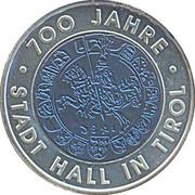 25 Euro (Hall In Tirol) -  reverse