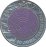 25 Euro (50 Years of Television) -  reverse