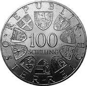 100 Schilling (Bregenz) -  reverse