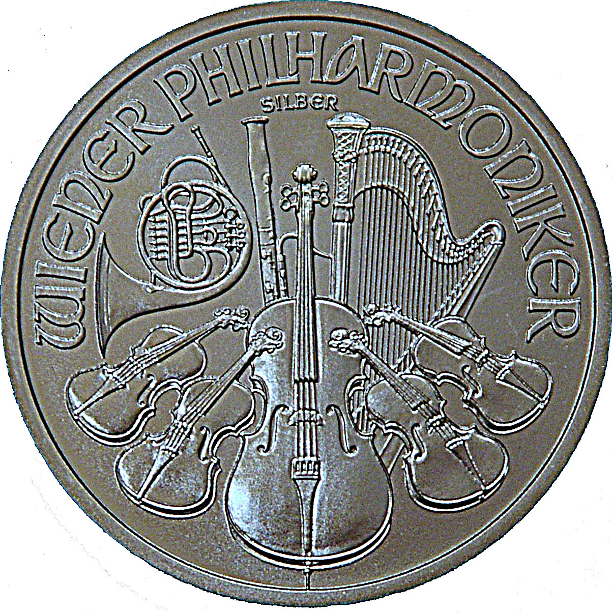 1½ Euro (Vienna Philharmonic) - Austria – Numista