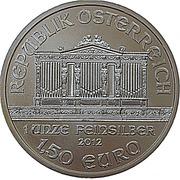 1½ Euro (Vienna Philharmonic) -  reverse