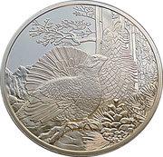 100 Euro (Capercaillie) -  reverse