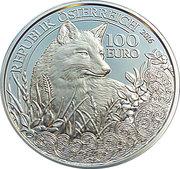 100 Euro (Fox) -  obverse