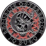 10 Euro (Heavenly Messengers: Gabriel – The Revealing Angel; Colored) -  obverse