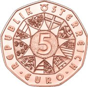5 Euro (New Year Coin 2018) -  obverse