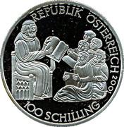 100 Schilling (Herzog Rudolf IV) – obverse