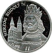 100 Schilling (Herzog Rudolf IV) – reverse