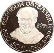 500 Schilling (Gustav Klimt) -  obverse