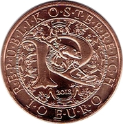 10 Euro (Heavenly Messengers: Raphael - The Healing Angel) -  obverse