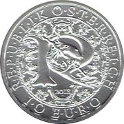 10 Euro (Heavenly Messengers: Raphael - The Healing Angel) -  obverse