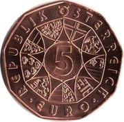 5 Euro (Easter coin 2018) – reverse