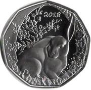 5 Euro (Easter coin 2018) -  reverse