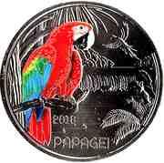 3 Euro (The Parrot) -  obverse