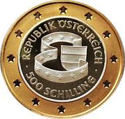 500 Schilling (EU Membership) -  obverse